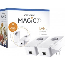 DEVOLO POWERLINE MAGIC 1 LAN 1-1-2 EU STARTER KIT