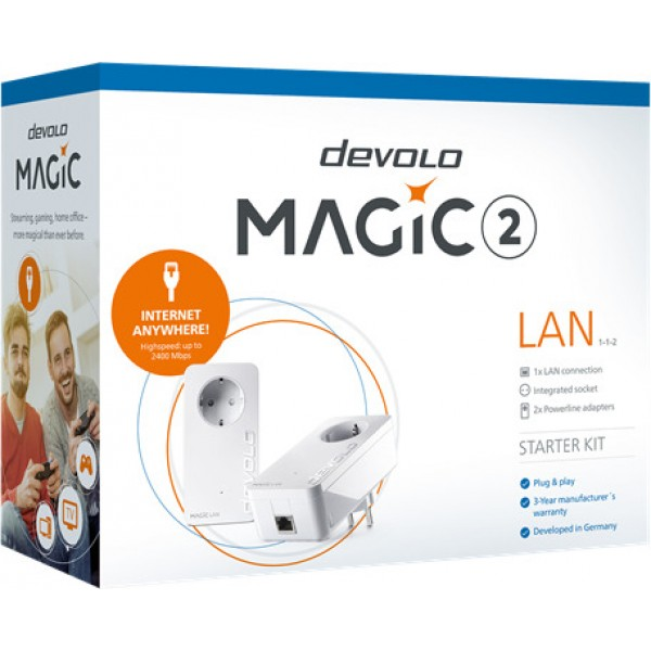 DEVOLO POWERLINE MAGIC 2 LAN 1-1-2