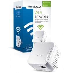 DEVOLO POWERLINE dLAN 550 WiFi SINGLE