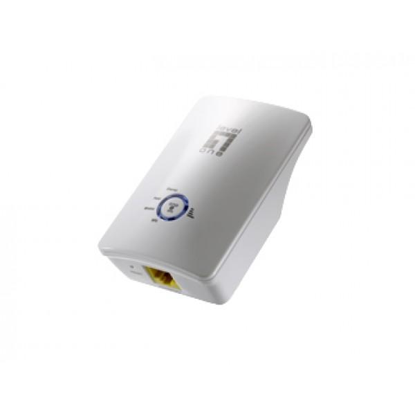 WRE-6001C Wireless Range Extender 300Mbps 802.11b/g/n EU Plug LevelOne