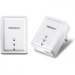 TRENDNET TPL406E2K Powerline 500 AV Nano Adapter Kit